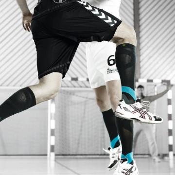 Bauerfeind - Compression Sock Training (Bleu et noir)