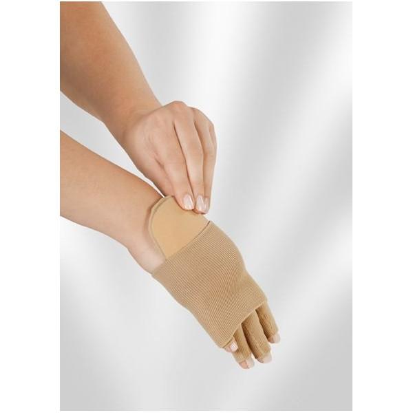 Pelote compressive pour la main